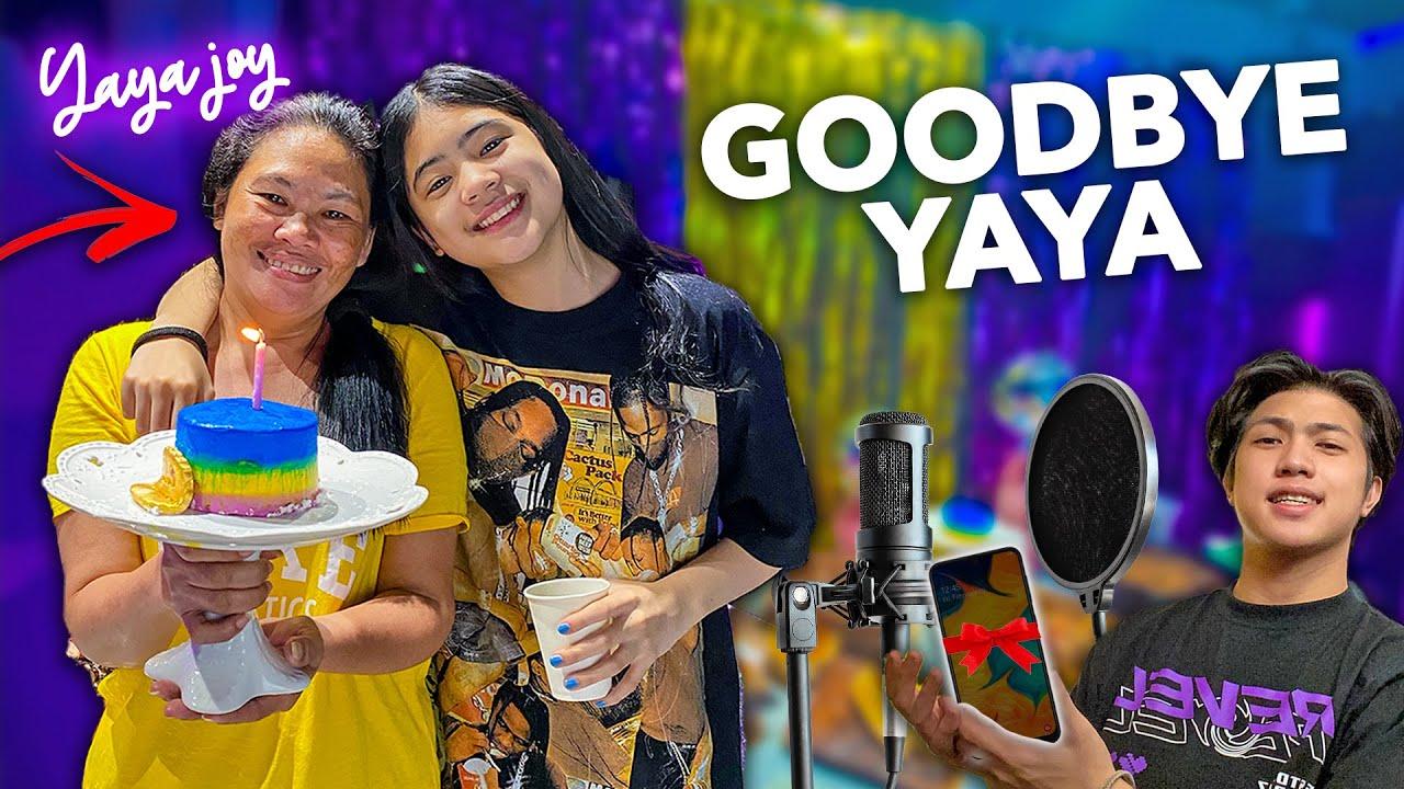 Our YAYA Leaving Us For Good (Paalam Yaya) | Ranz and Niana