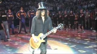 Slash plays the National Anthem MP3