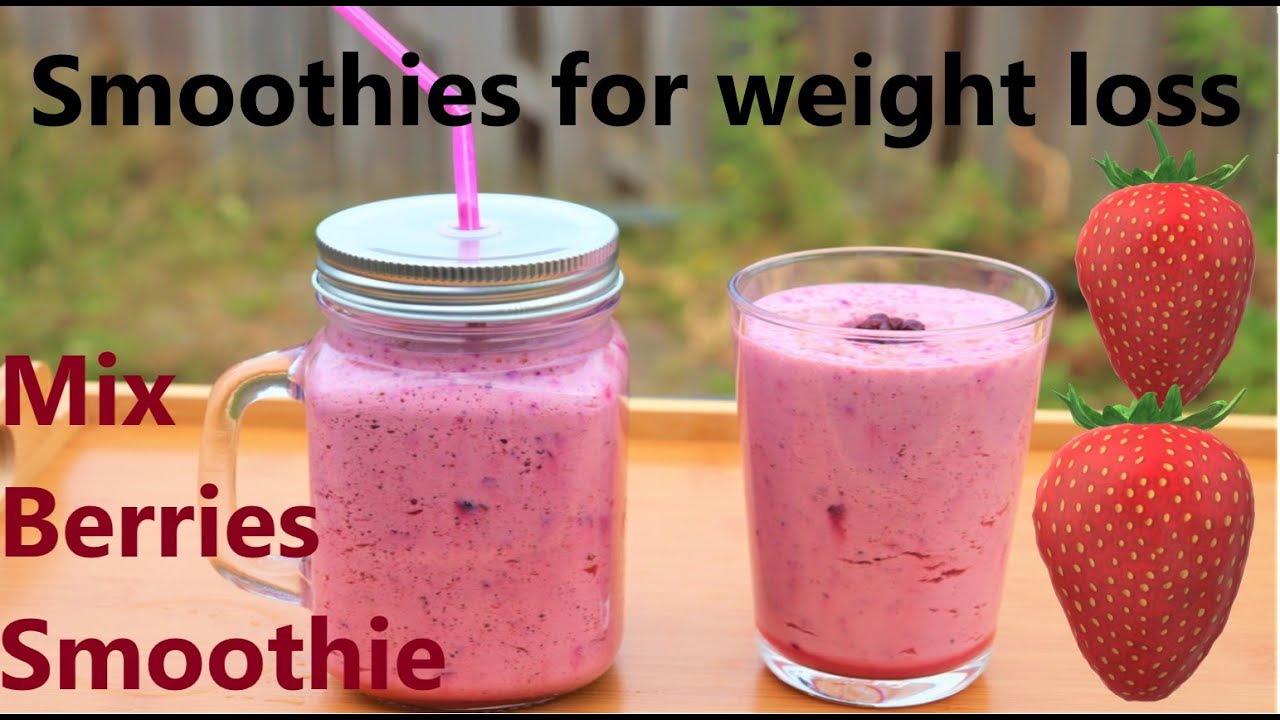 Mix Berries Smoothie Smoothies For Weight Loss Mix Berries Smoothie Must Try 2020 Lose Weight Youtube
