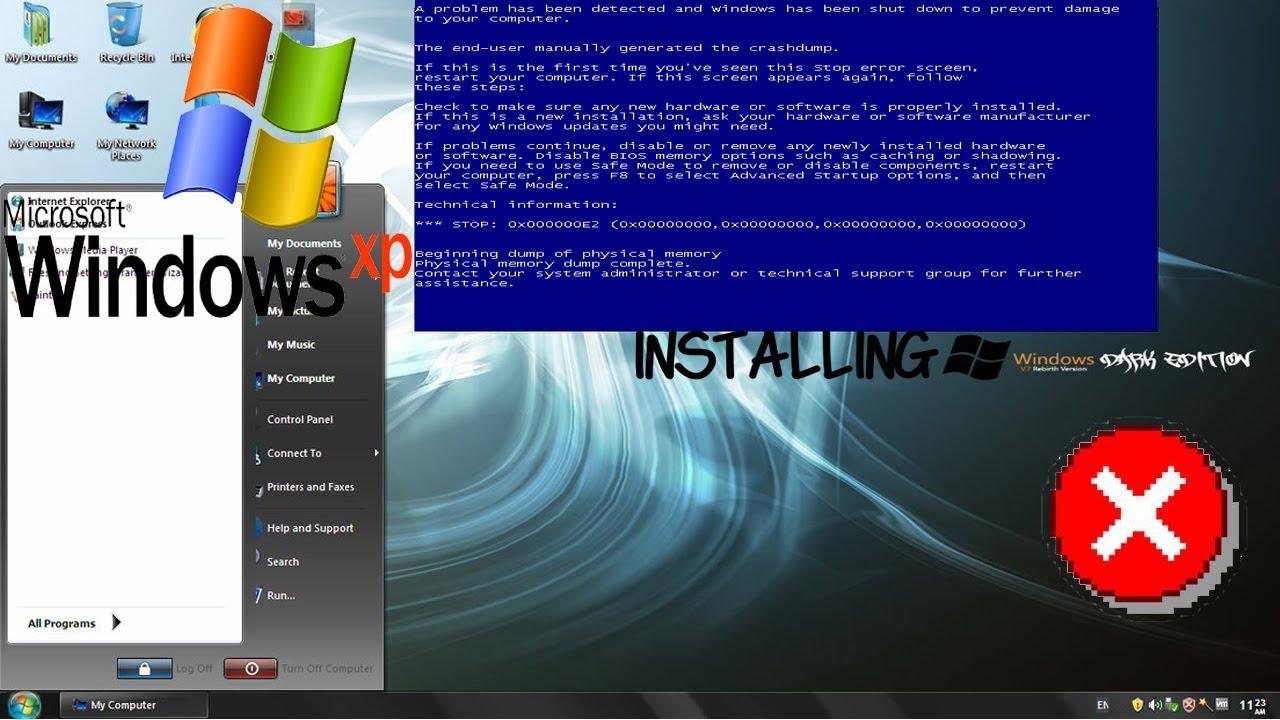 download windows xp dark edition v7 iso