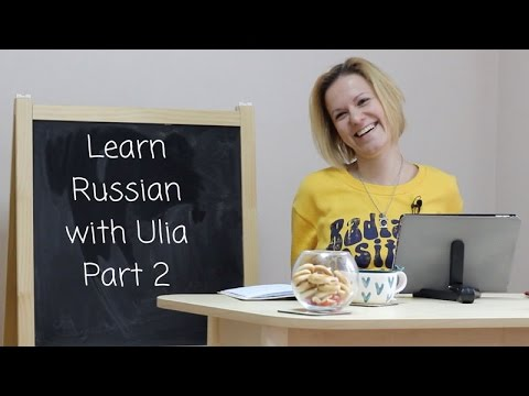 Ulia Sinaieva answers your questions on learning Russian