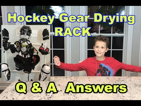 Hockey Gear Drying RaCk And Q & A Answers