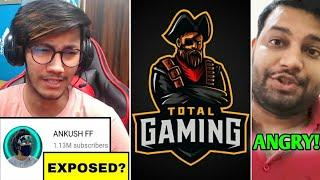 Ankush Free Fire EXPOSED? | Total Gaming got HATE! -Why? | Pahadi Gaming, Jonty Gaming & UG