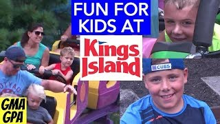 Kids At Kings Island: Planet Snoopy & Other Fun Things To Do And See For Children At The Theme Park