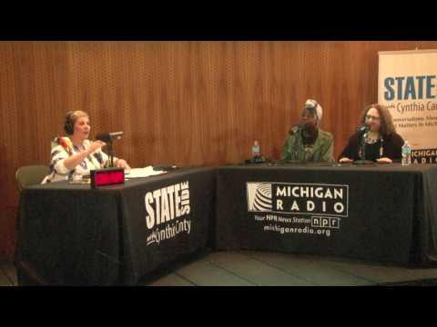 "Michigan Radio Stateside - ""Live in Flint"" 4/22/2017 - Laura McIntyre & Camryn Banks - 7 of 7"