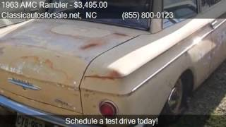 1963 AMC Rambler  for sale in , NC 27603 at Classicautosfors #VNclassics
