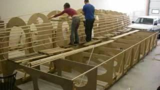 construction bateau - assemblege mannequin
