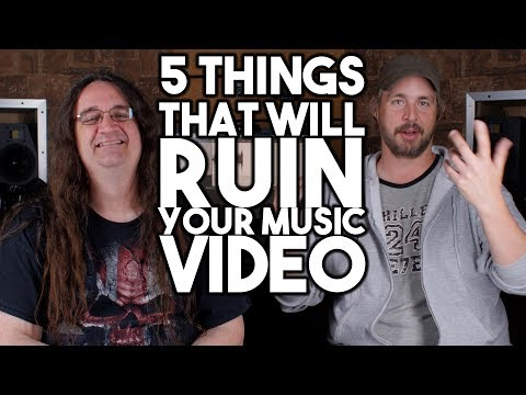 5 things that will RUIN your MUSIC VIDEO