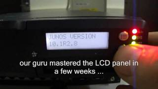 видео Juniper EX4200
