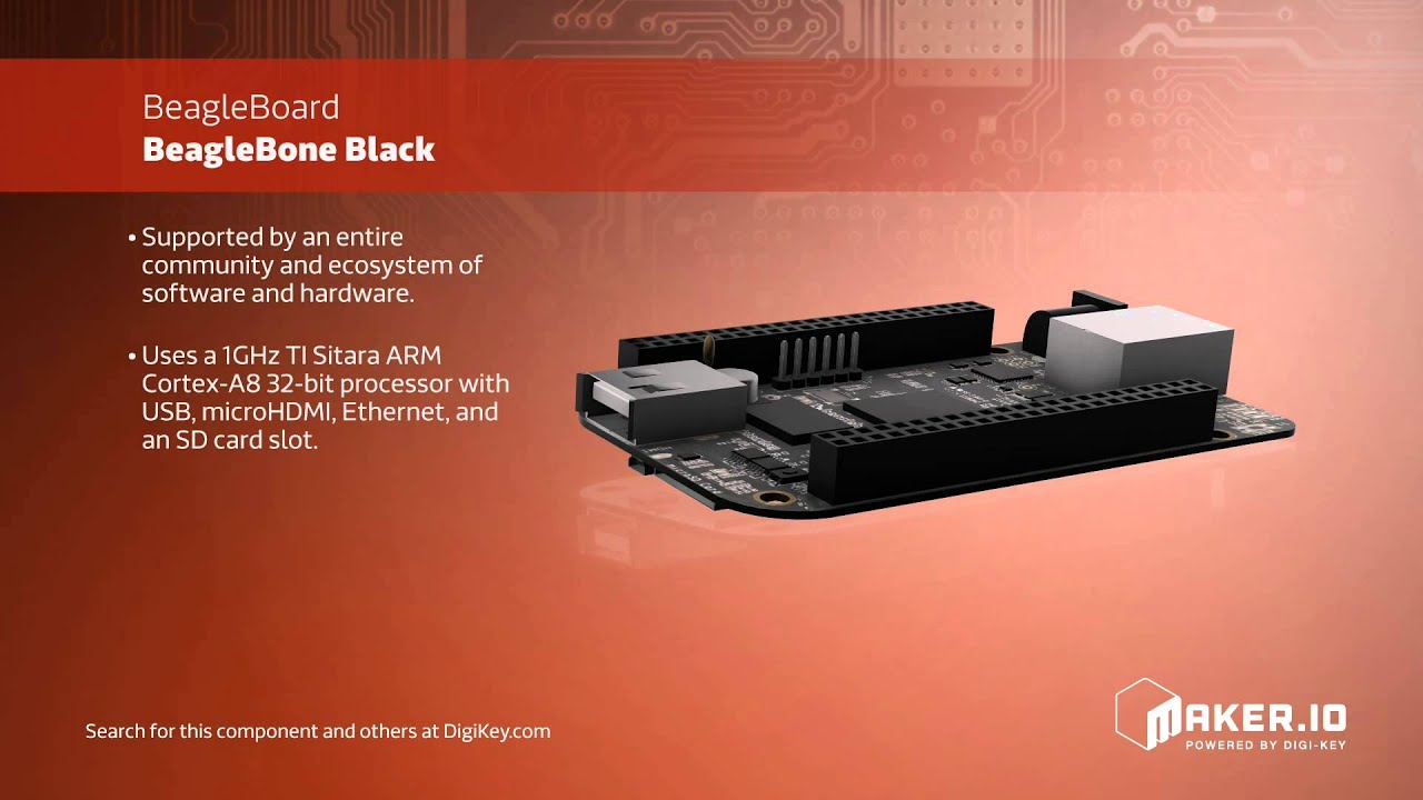 BeagleBone Black | Maker Minute