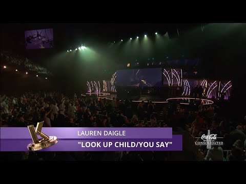 Lauren Daigle - Look Up Child, You Say | K-LOVE Fan Awards 2019