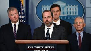 President Donald Trump's coronavirus task force holds briefing on the outbreak