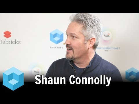 Shaun Connolly – Spark Summit East 2016 – #SparkSummit – theCUBE