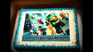 LEGO Ninjago 5th Birthday Party!