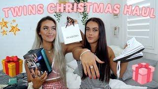 WHAT I GOT FOR CHRISTMAS 2018!   Mescia Twins