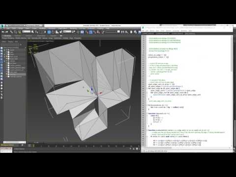 MaxScript - Repair Unshared Vertices, Preserve Adjacent Geometry