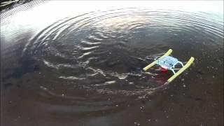Air boat test 2