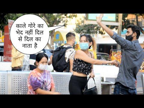 College student girls challenge accept twisted prank | Vivek golden