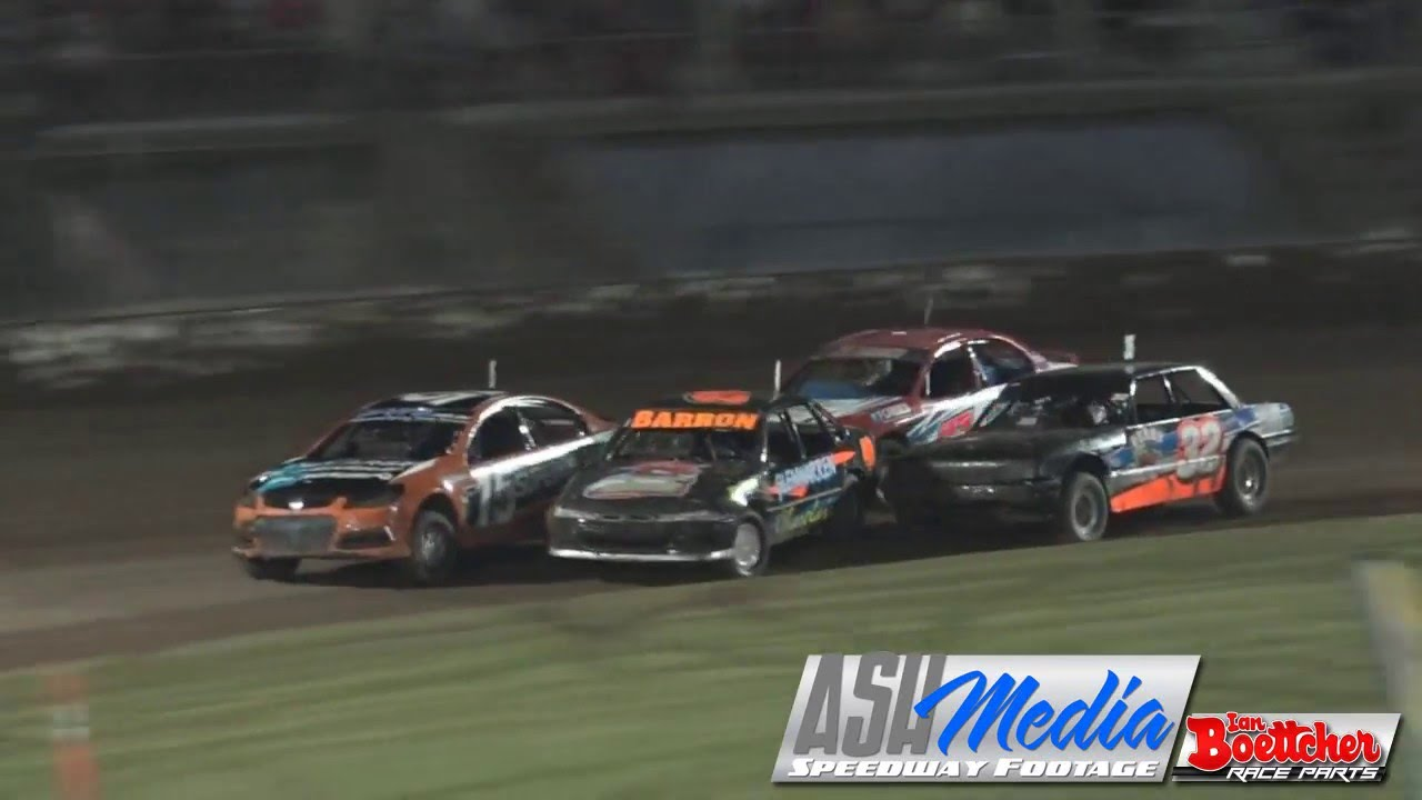 Modified Sedans Australian Title Heat Race Of The Night Lismore