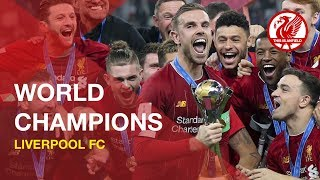 Liverpool FC   World Champions - Trophy lift and team land home