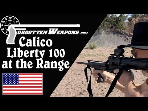 Calico Liberty 100 Carbine on the PCC Evaluation Course