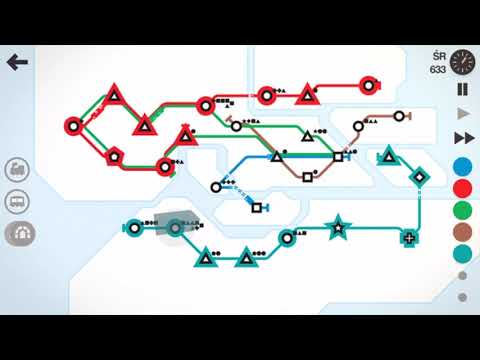 Mini Metro - Stockholm - new map