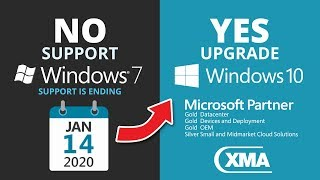 Windows 7 end of support 2020 - What now? PC migration for Windows 10 update & security assessment