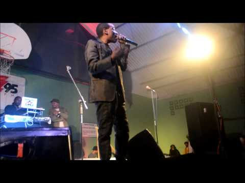 Screechy Dan At Reggae Concert Feb 2 2013