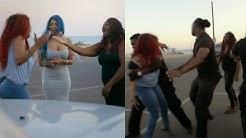 Lyrica G vs. Pam Car Throw down | Love & Hip Hop: Hollywood Season 3