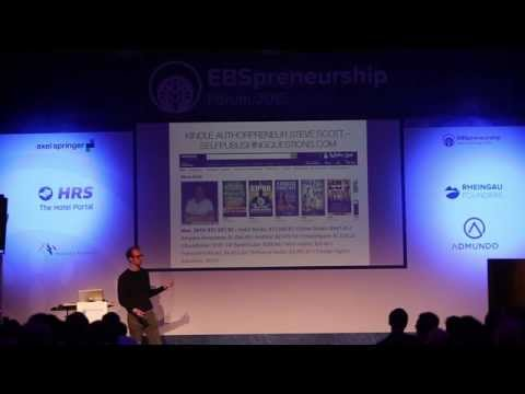 Johannes Metzler at EBSpreneurship Forum 2015 - How to build a lifestyle business and love your life