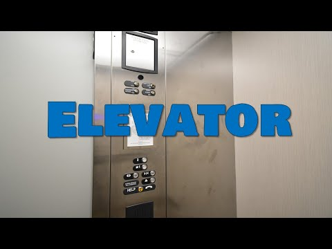 Ever been stuck in an elevator? It's your Word for Wednesday!