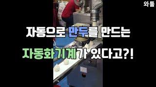 무역박람회 출장후기) 자동으로 만두 만드는 기계