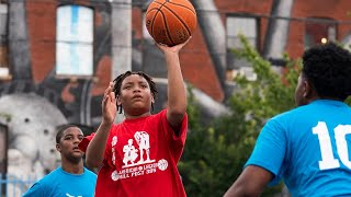 Philadelphia post hosts basketball league for local youth