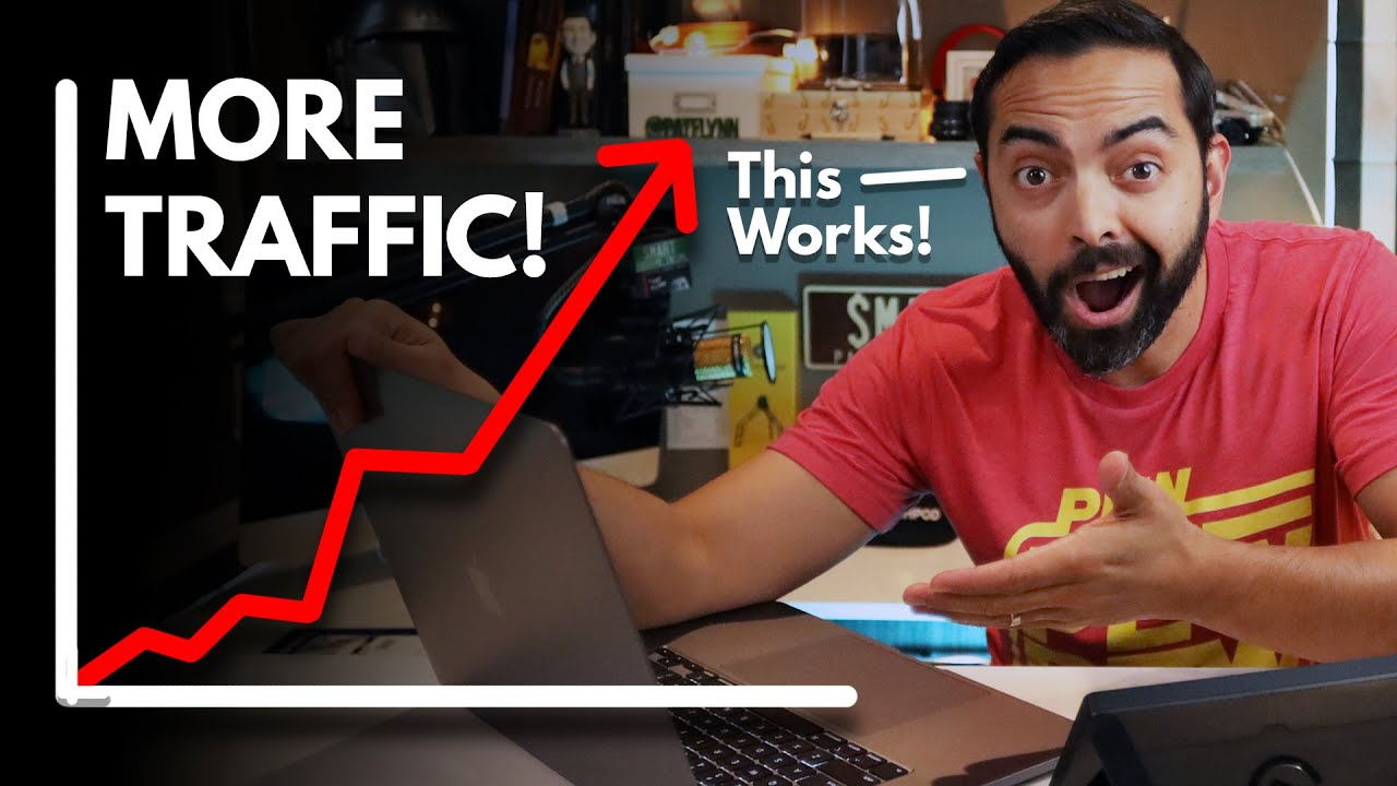 This Traffic Building Strategy Works Absurdly Well (Grow Your Blog, Podcast or Video Audience!)