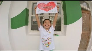 "Guizhou Bai bi art class - 2014 Nippon paint ""Color, Way of Love"" CSR video"