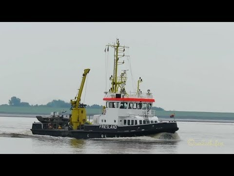research survey vessel Friesland IMO 9031387 DBPE Emden Messschiff