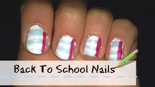 Back to School Nails Thumbnail