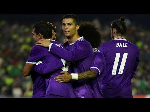 Real Betis Vs Real Madrid - All Goals - 15/10/2016