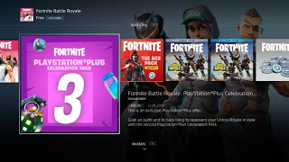 PS PLUS PACK 3 RELEASE DATE! HOW TO DOWNLOAD FORTNITE FREE PLAYSTATION PACK!