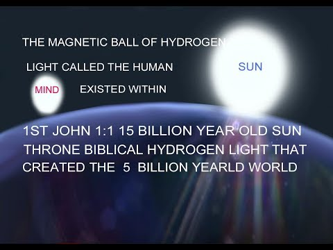 ofthe magnetic rotatingball of hydrogen light called thehumanmindof the biblicallightthatcreated the