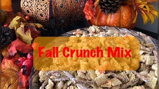 Fall Crunch Mix | Cook With Me | Kid Friendly Recipe