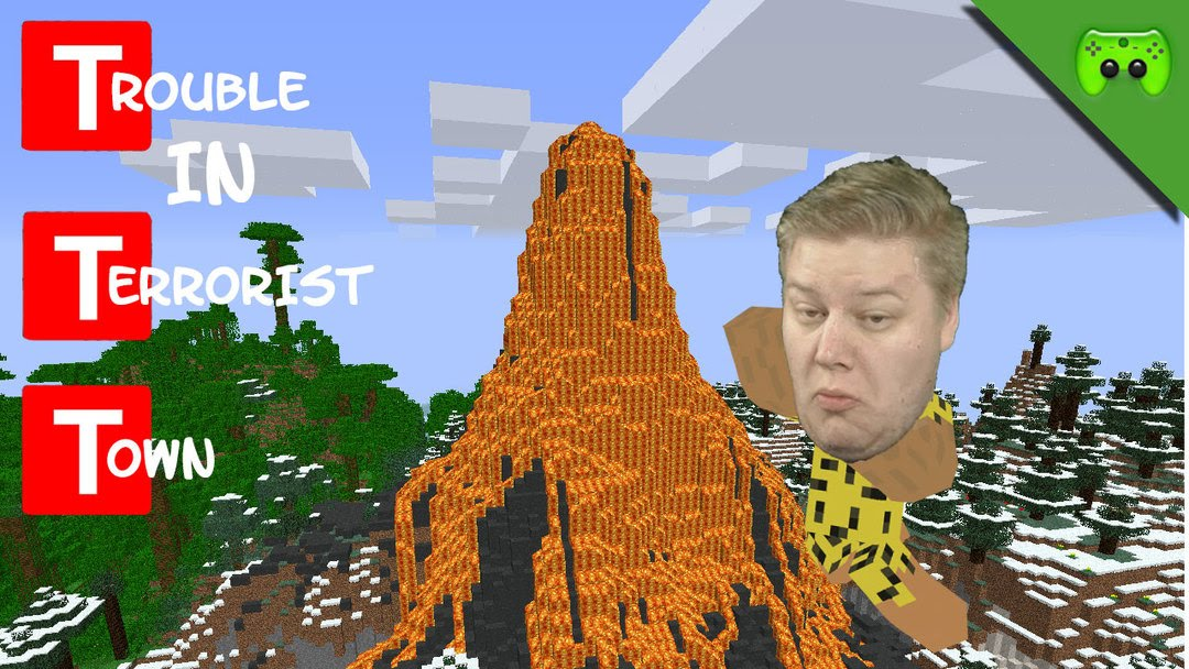 How To Build Volcano In Minecraft