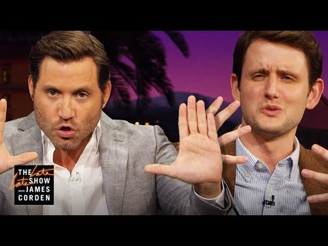 Nude s w Edgar Ramirez and Zach Woods