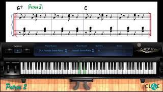 Como Tocar Merengue en el Piano   Patron # 2