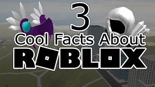 3 fatos legais sobre ROBLOX (READ DESC)