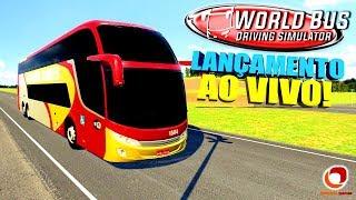 LIVE: LANÇAMENTO DO WORLD BUS DRIVING SIMULATOR + SORTEIO GIFT CARD!