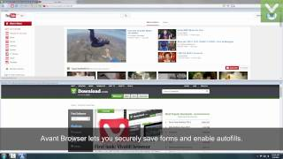 Avant Browser Ultimate - Navigate the Web in a streamlined interface - Download Video Previews