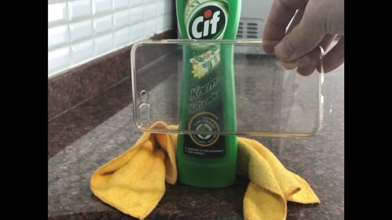 Telefon kılıfları nasıl temizlenir