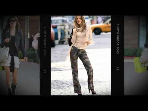 FASHION BLOGGERS: Alessandra Ambrosio Street Style