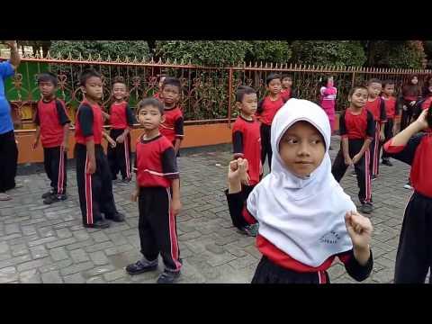 Senam Telolet SDN Kembangan Utara 10 Pagi Jakarta